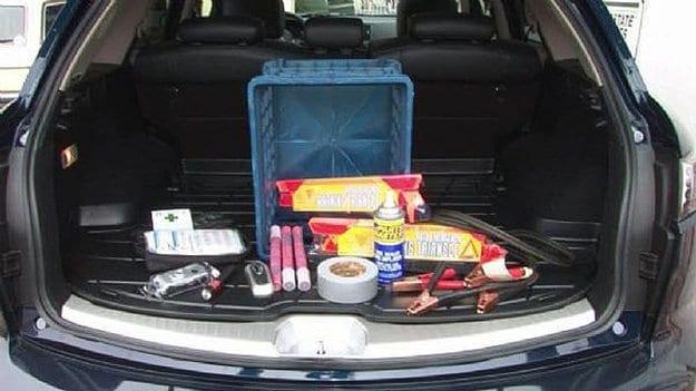 Store A Car Emergency Kit   8 Bridge Failure Survival Tips