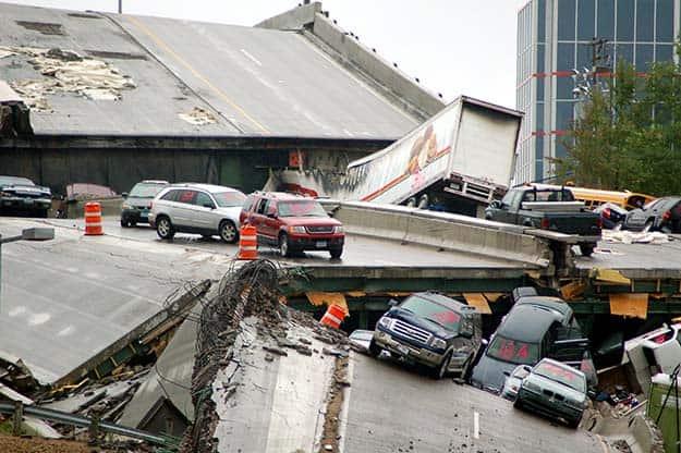 If You Fall On Land | 8 Bridge Failure Survival Tips