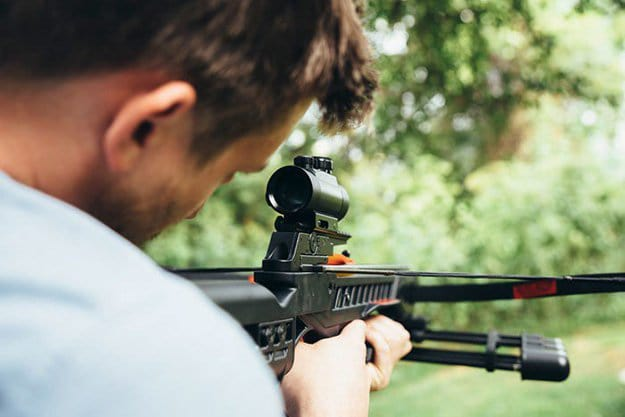 They're SILENT   Crossbow: Its Advantages Over Guns