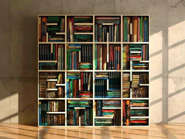 Bookcase | 50 Easter Egg Hiding Spots