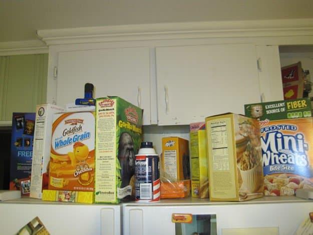 Cereal Box | 50 Easter Egg Hiding Spots