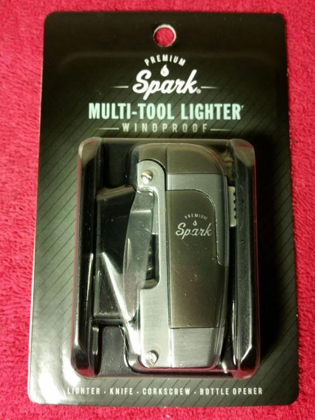 The Multi-Tool Lighter | Spark Multitool Lighter Review