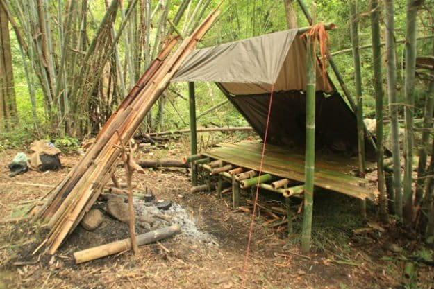 A Bamboo House In The Wild   14 Survival Shelters You Can Build For Any Situation