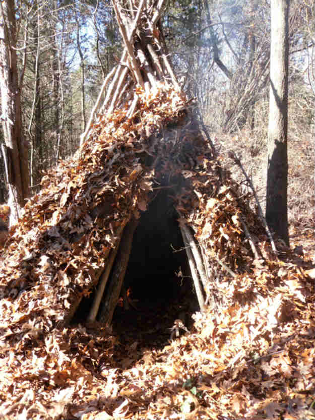 A Wickiup Shelter | 14 Survival Shelters You Can Build For Any Situation