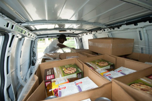 The Moderation Key: How to Recognize When Prepping Has Gone Too Far full truck of food