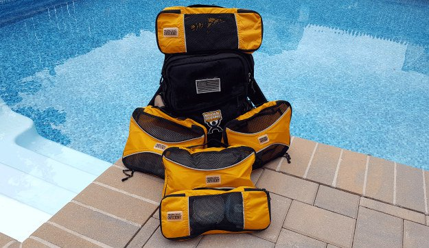 A USGI Sea Bag: The Ideal Vehicle Go Bag For You lots of gear