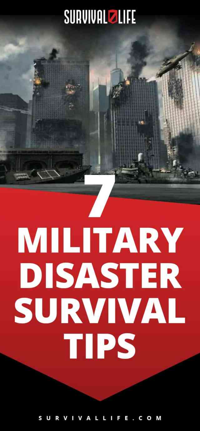 Placard   Military Disaster Survival Tips   Survival Life