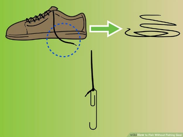 As A Fishing Line | 12 Unique Ways Shoelaces Could Save Your Life