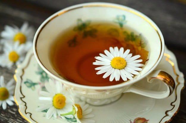 Sip Chamomile Tea | 13 Natural Remedies For Headaches