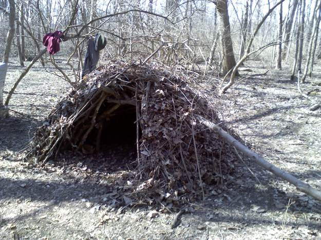 Debris Hut Anchor and Weight | Survival Shelters | Create Survival Shelters From Debris