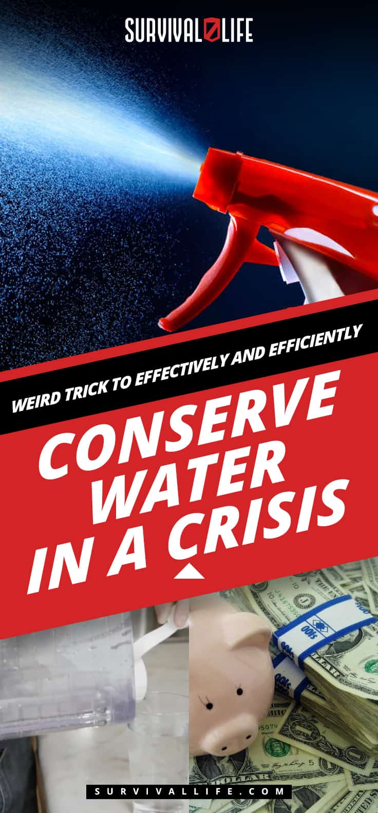 Weird Trick To Effectively And Efficiently Conserve Water In A Crisis
