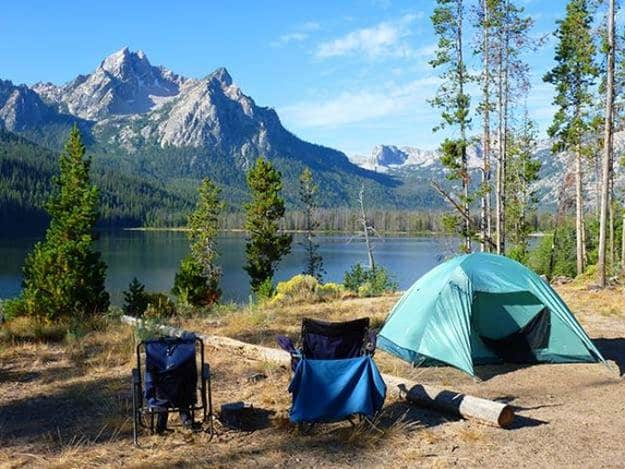 """Camping in Idaho 