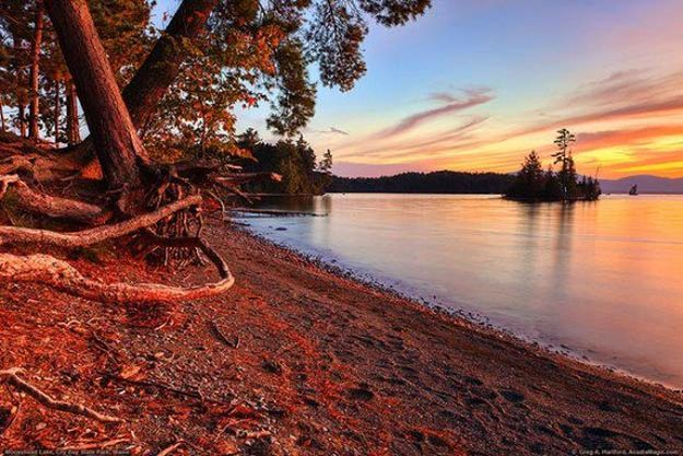 """Camping in Maine 