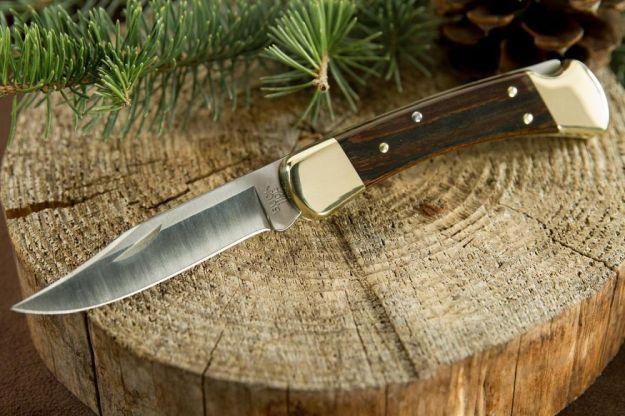 Buck Knives' 110 Folding Hunter Knife | Folding Hunting Knives For The Outdoor Warrior | Hunter Gear