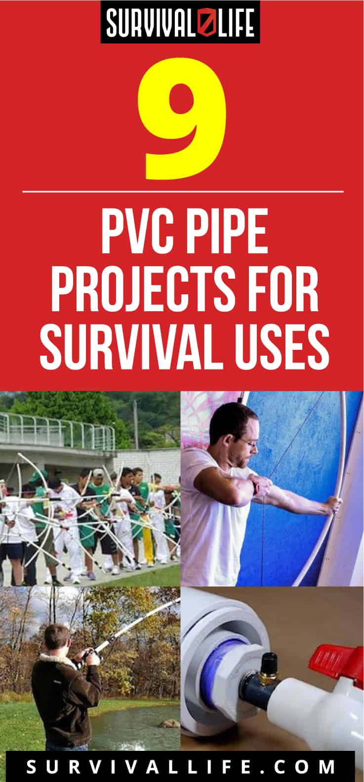 PVC Pipes | 9 PVC Pipes Projects For Survival Uses
