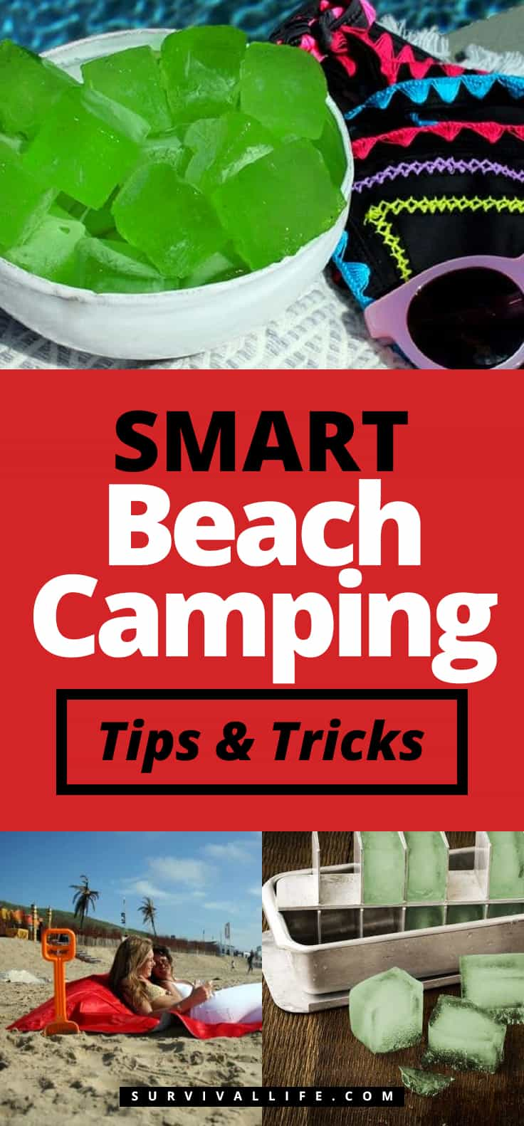 Smart Beach Camping Tips And Tricks | https://survivallife.com/beach-camping-smart-tips-tricks/