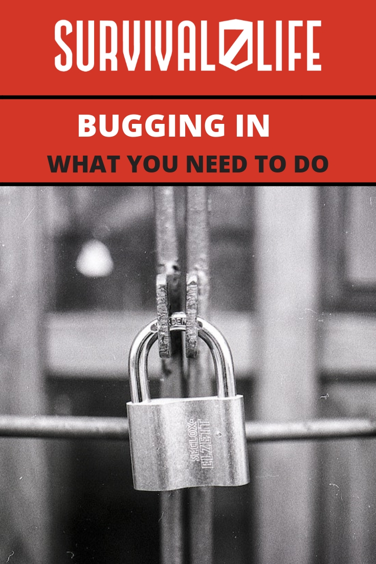 Placard | Bugging In | What You Need To Do | Bug In Prepper List