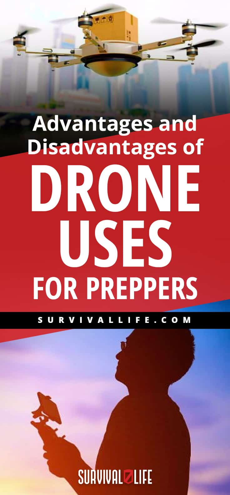 Advantages And Disadvantages Of Drone Uses For Preppers | https://survivallife.com/drone-uses/