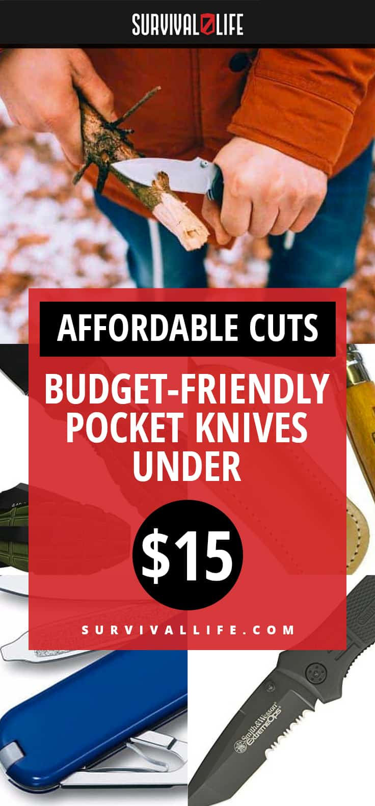 Affordable Cuts | Budget-Friendly Pocket Knives Under $15