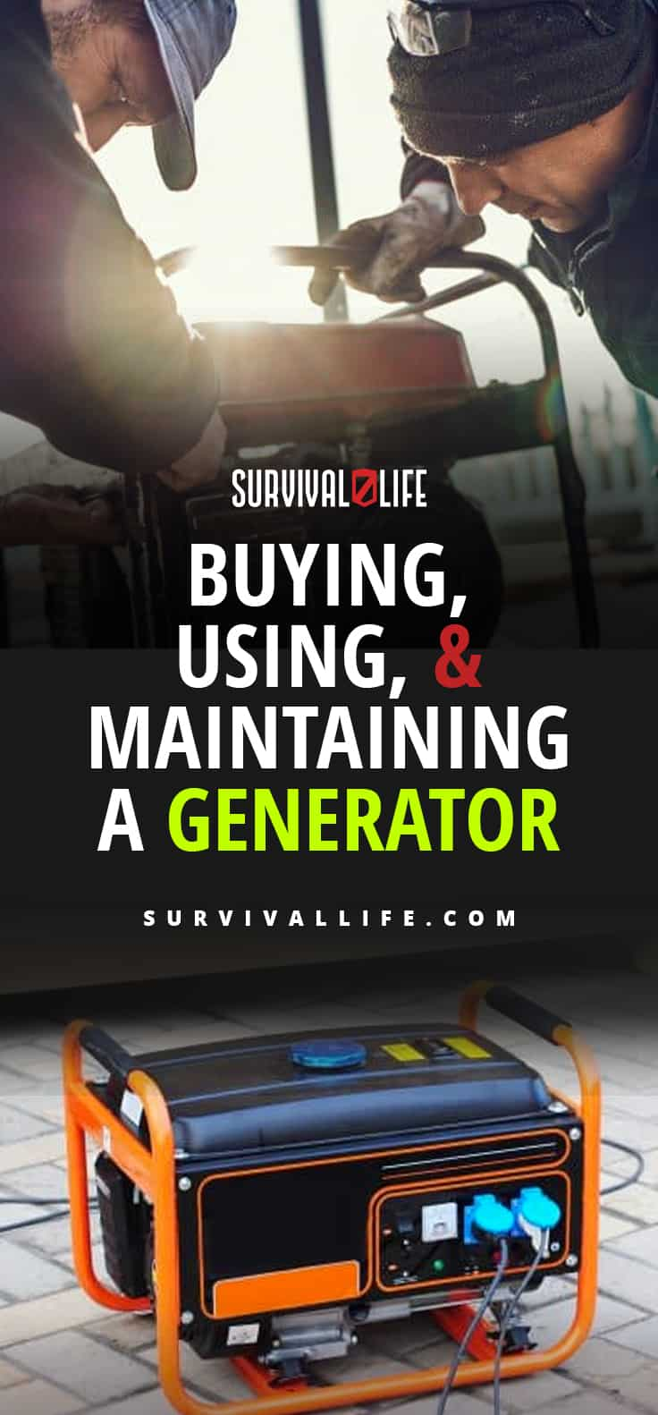 Buying, Using, and Maintaining a Generator