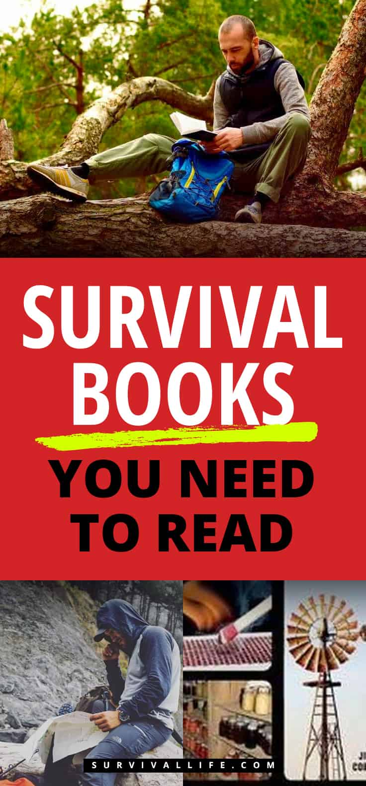 Survival Books | Survival Books You Need To Read | Survival Books You Need To Read | outdoor survival books