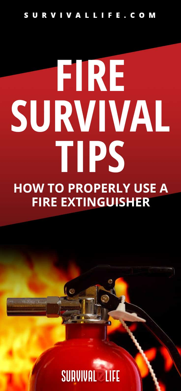 Fire Survival Tips   How To Properly Use A Fire Extinguisher   fire extinguisher types