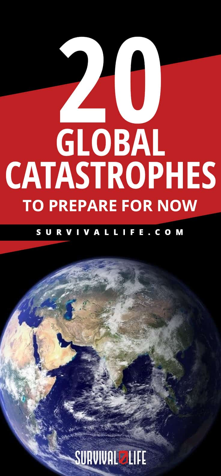 Placard   Global Catastrophes To Prepare For NOW