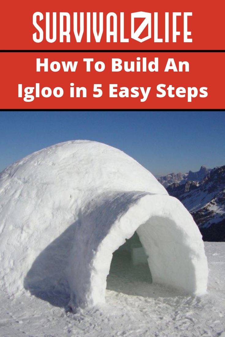 Placard   How To Build An Igloo in 5 Easy Steps
