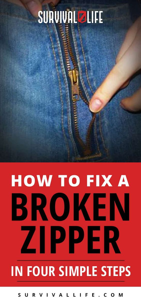 Placard | How To Fix A Broken Zipper In Four Simple Steps