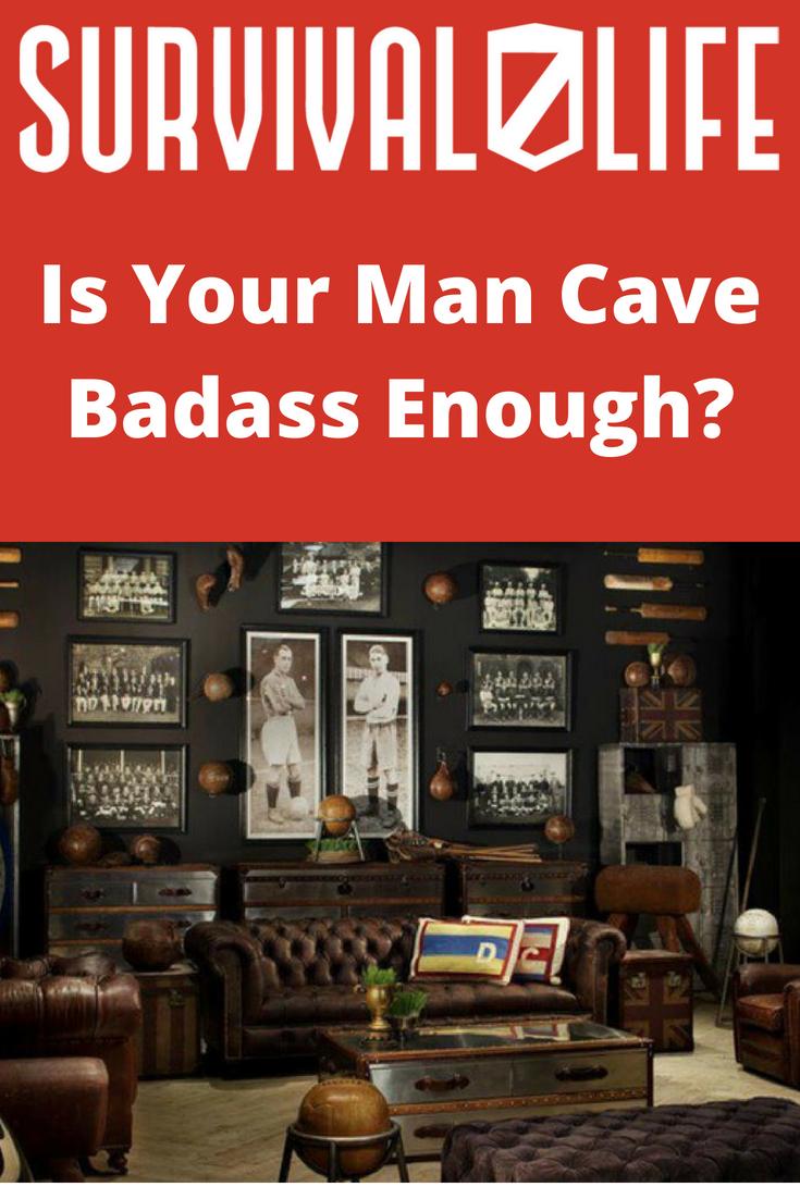 Man Cave Ideas: Is Your Man Cave Badass Enough? | https://survivallife.com/man-cave-ideas/