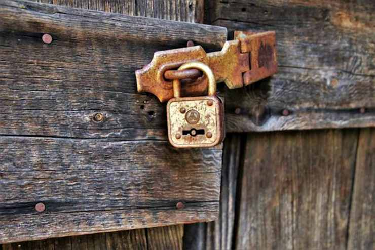 Wooden storage lock | Proven DIY Home Security Tips To Protect Your Family