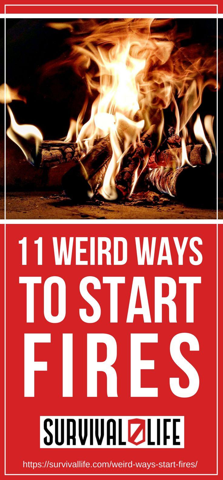 Placard | 11 Weird Ways to Start Fires