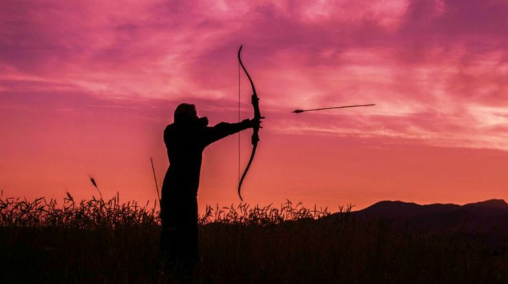 "Archery silhouette | ""Old World"" Primitive Survival Skills You'll WISH You Knew Before SHTF"