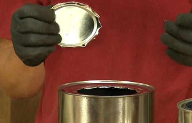 """Cut Hole for Stand Tube 