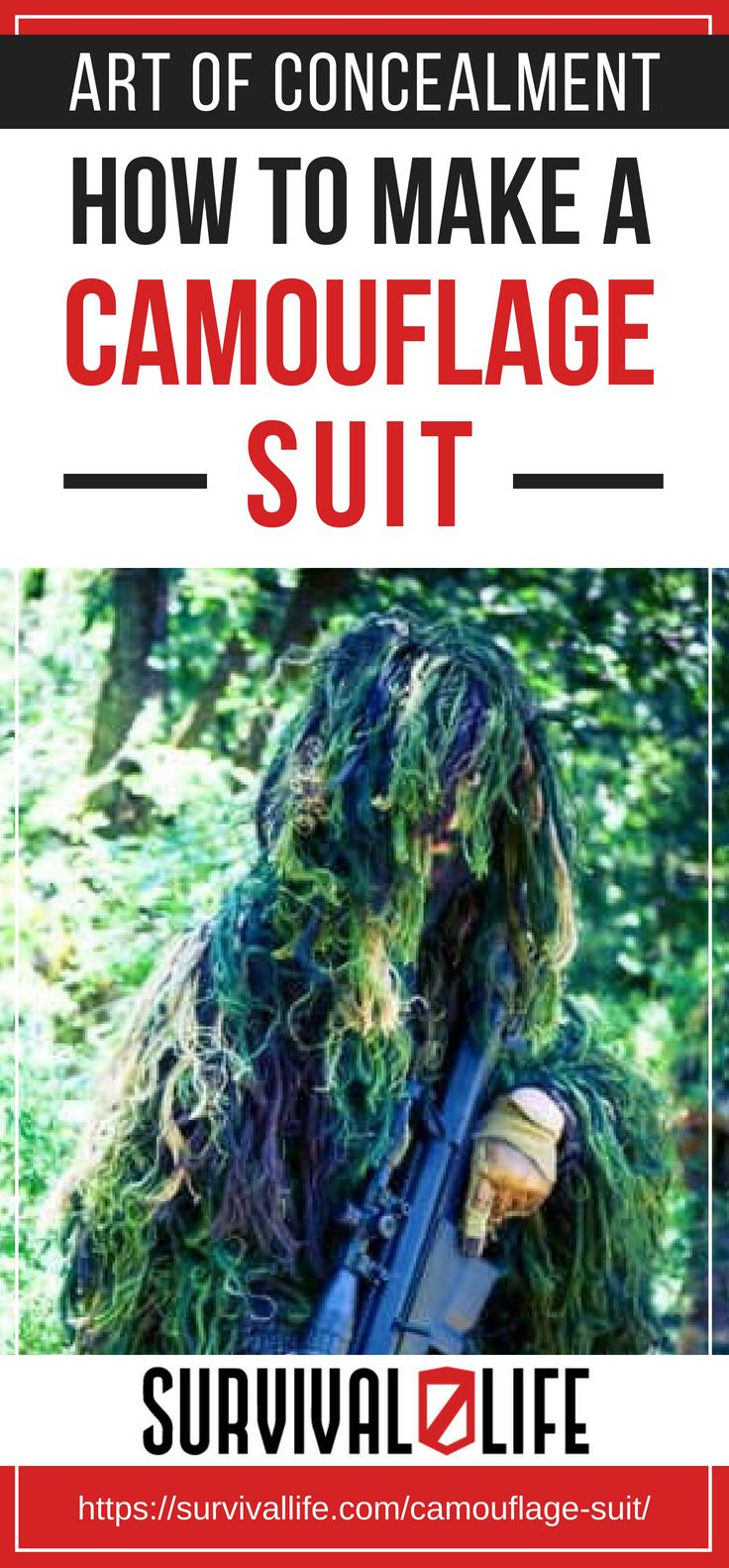 Placard | Art of Concealment | How To Make A Camouflage Suit