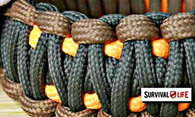 Feature | Combination of brown, orange and black paracord | Paracord: Everything You'll Ever Need to Know