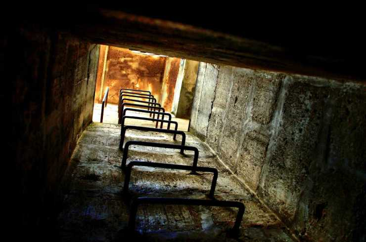 Bunker stairs | The Weakness Of Underground Bunkers
