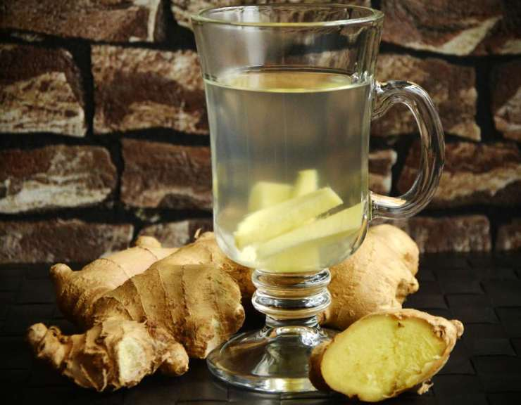 One glass of ginger tea | Home Remedies For Cold And Flu | Surprisingly Simple Natural Relief