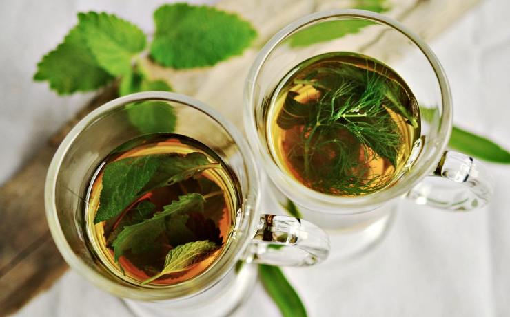 Herbal peppermint tea   Home Remedies For Cold And Flu   Surprisingly Simple Natural Relief