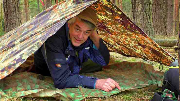 Old man inside the tent | Lost In The Woods 101: What To Do When Lost In The Woods
