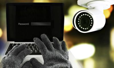 Featured | A hacker in the dark breaks the access to steal information and infect computers | Is Your Home Security System Spying On You?