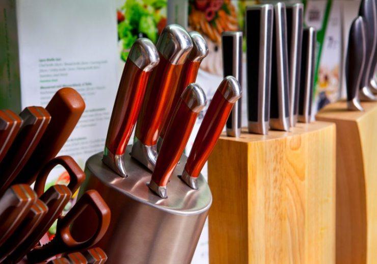 set kitchen knives holder | prepper medical supplies