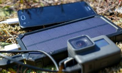 mobile cell phone action camera power | DIY Solar-Powered Cellphone Charger | featured