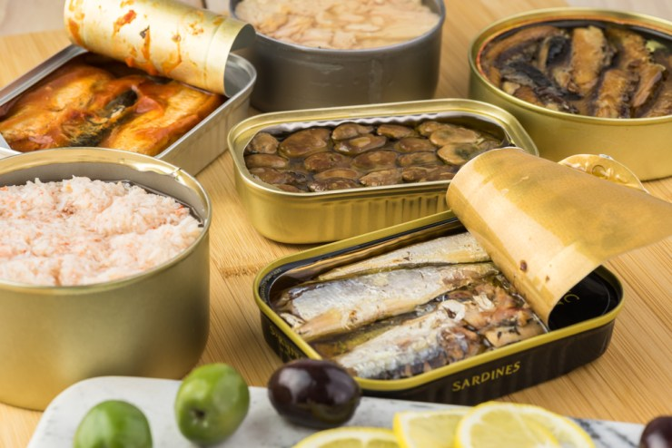 Canned Fish & Poultry | Healthy Non-perishable Food Items
