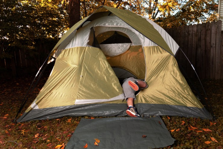Test Your Tent First | Tips to Make Camping with Kids Hassle-Free
