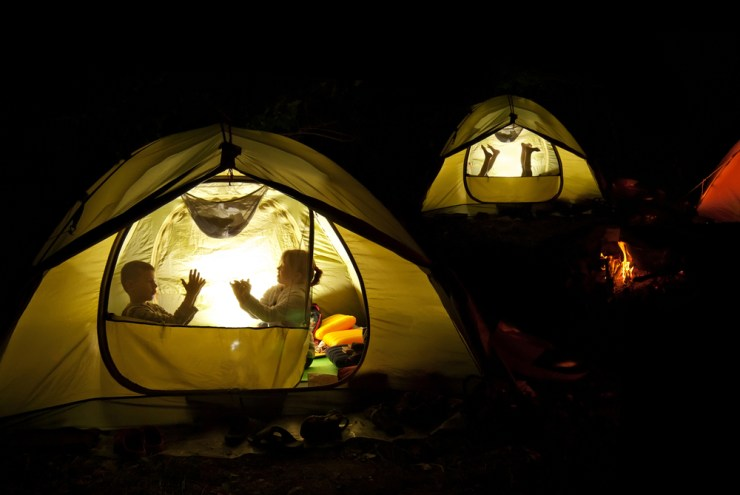Light the Night | Tips to Make Camping with Kids Hassle-Free