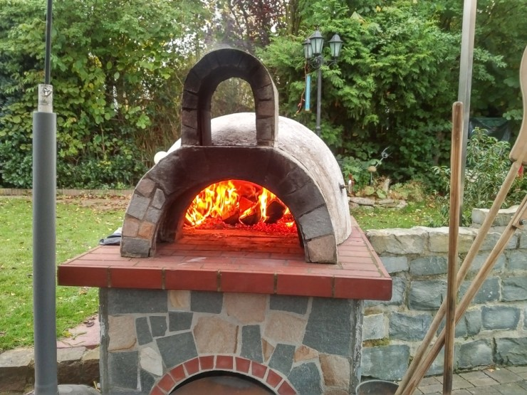 Brick Pizza Oven | Start Cooking Outdoors to Prepare for America Off Grid