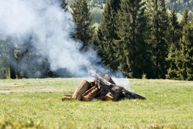 Observe Campfire Smoke | How to Read the Weather