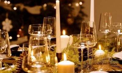 Elegant table set-up | Christmas Survival Guide | How to Survive Christmas | Featured