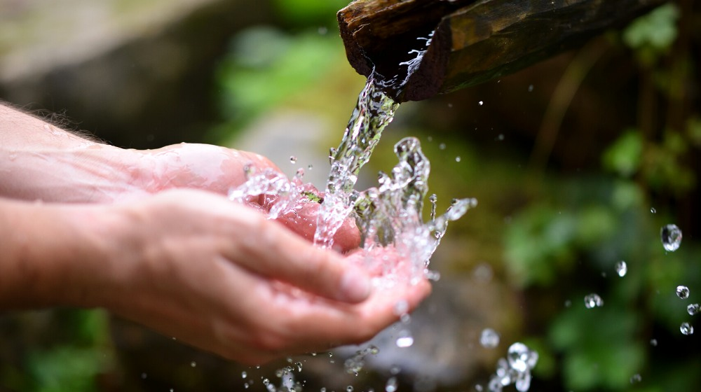 man washing hands fresh cold potable | How To Have Potable Water Anywhere | Emergency Preparedness | featured